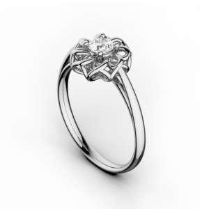 Inel de logodna cu diamant DR341