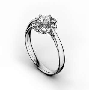 Inel de logodna cu diamant DR344