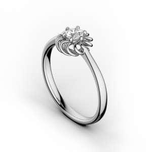 Inel de logodna cu diamant DR348